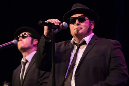 Chicago Blues Brothers. Picture by Jonathon Cuff