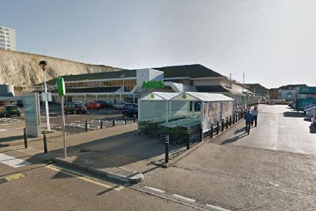 The incident took place at Asda in the Brighton Marina. Picture: Google Maps