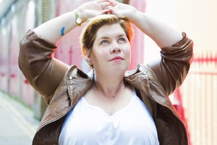 Katy Brand. Picture by Karla Gowlett