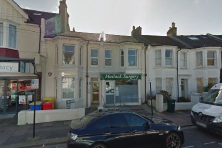 Matlock Surgery in Brighton (photo from Google Maps Street View)