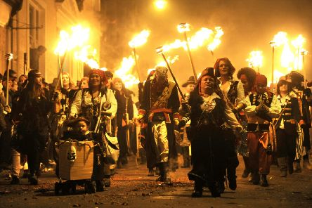 Looking back at the 2009 Lewes Bonfire