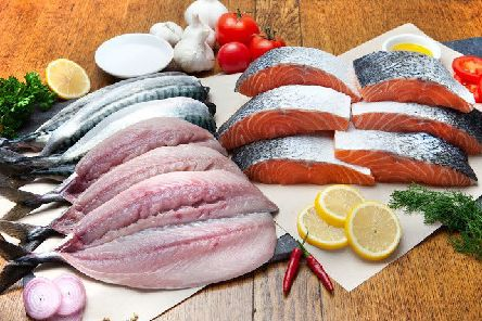 Customers can choose the quantity and type of fish they would like David to deliver to them