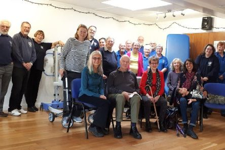Three Lions groups, Adur East, Brighton, and Lewes, clubbed together to replace broken equipment at The Sussex MS Centre in Southwick