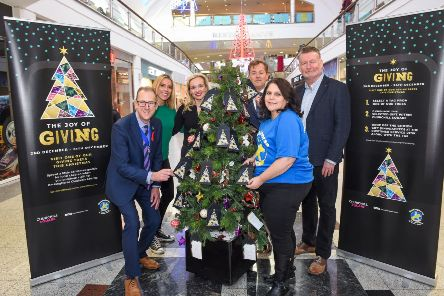 Shoppers can now donate a gift to Rockinghorse at Churchill Square for this year's Giving Tree appeal