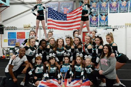 Team Apollo of The Aylesbury Cheerleading Academy