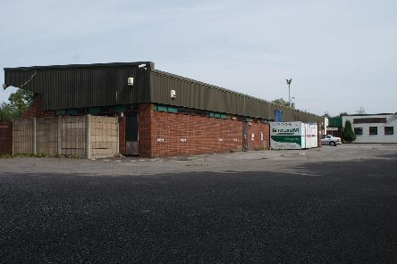 Pictures taken years after Aylesbury United were evicted from the stadium, which has now sat empty for 13 years