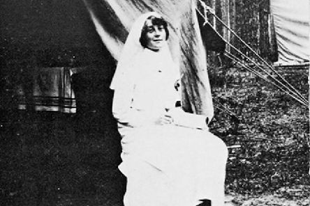 Florence Farmborough of Steeple Claydon who was a Red Cross nurse during WW1