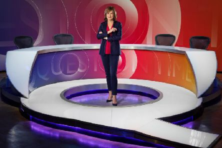 Fiona Bruce is the new presenter of Question Time