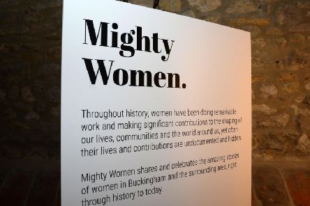 The Old Gaol's Mighty Women Exhibition