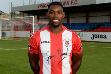 Top scorer Lee Ndlovu put Brackley Town back on level terms at Altrincham