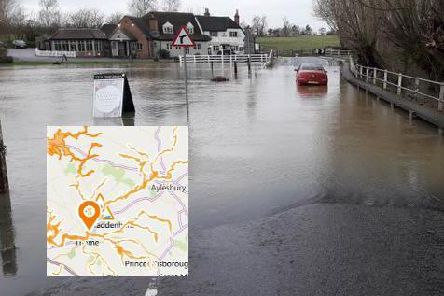 Picture of flooding in Shabbington