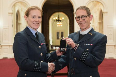 Reverend David Richardson is moving from RAF Halton