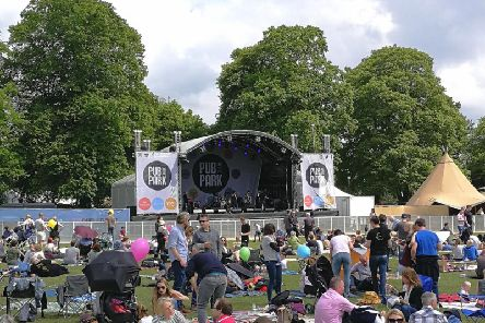 Pub In The Park, Marlow, 2019.