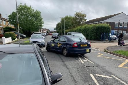 Congestion issues outside the school