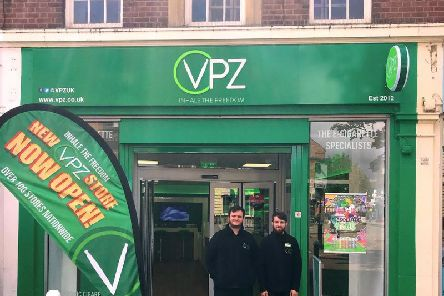 The opening of Aylesbury's new VPZ store