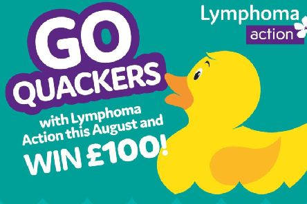 The duck race is in aid of Lymphoma Action and is supported by The Bucks Herald