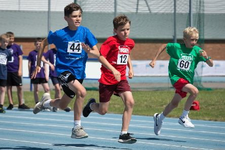 The Bucks School Games - held at Stoke Mandeville Stadium