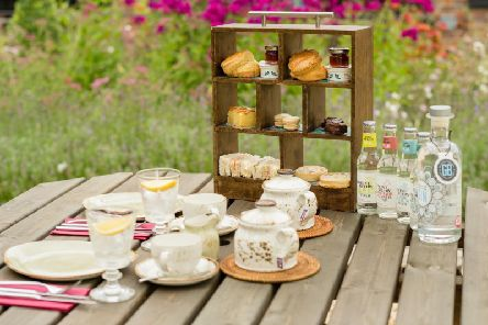 Afternoon G & Tea will be available at The Grange from Monday 12 August and will feature award-winning, locally produced Griffiths Brothers gin, produced at their distillery near Amersham.
