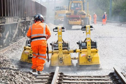 Rail works are taking place over the August Bank Holiday weekend