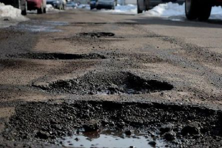 According to data from confused.com, the total depth of all Buckinghamshire's potholes is a whopping 132 meters.