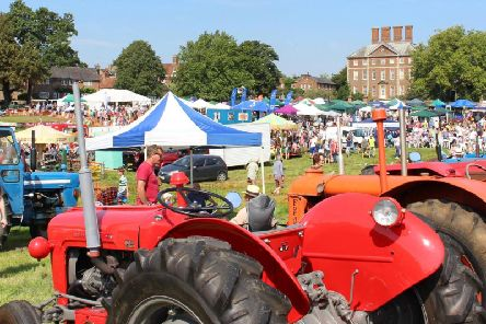 A photo from last year's Winslow Show