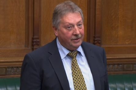 Sammy Wilson MP speaking in the House of Commons