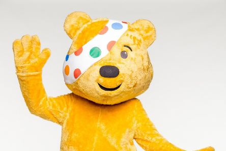 BBC Children in Need mascot Pudsey.