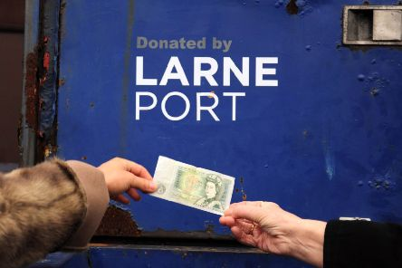 Larne of Port donates industrial rolling stock for just one pound to the Railway Preservation Society of Ireland at Whitehead Railway Museum. Photography by Charles Friel.