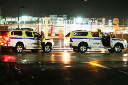 Gatwick Airport during December's drone incident