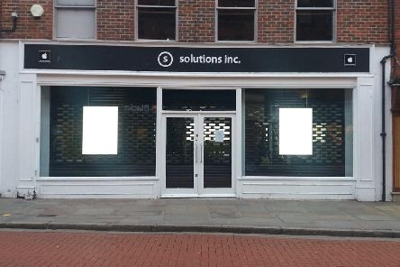 The Solutions.Inc store in Chichester is now closed