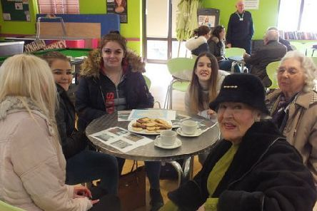 Bridging Generations at Chichester College, supported by Chichester Priory Rotary Club