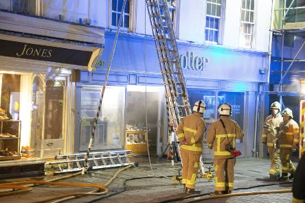 North St, Chichester four pump fire