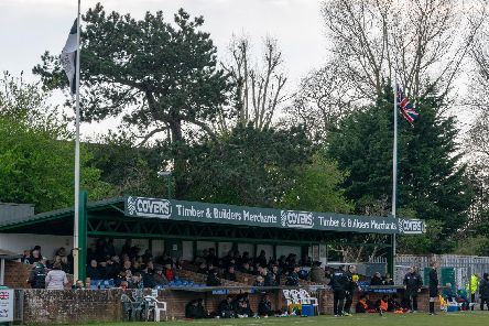 There was a subdued air around Nyewood Lane for the insipid draw with Harlow / Picture by Darren Crisp