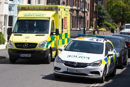 Emergency services attended the scene of the incident