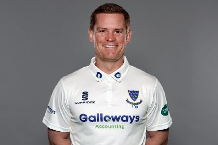 Ton-up skipper Ben Brown / Picture by Getty Images