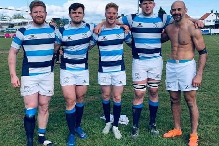 Five of Chichester's six county players