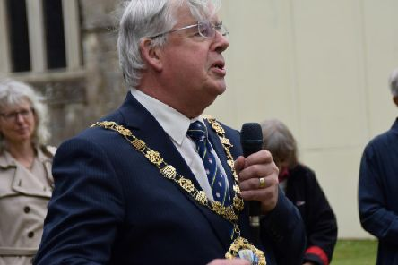 Mayor of Chichester Richard Plowman