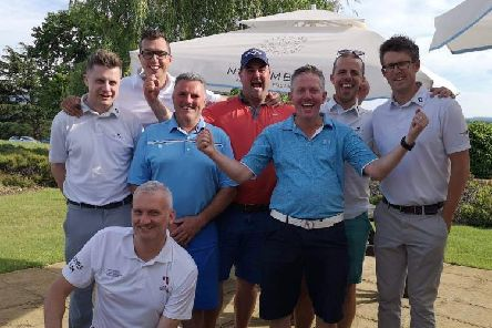 The Cowdray scratch team