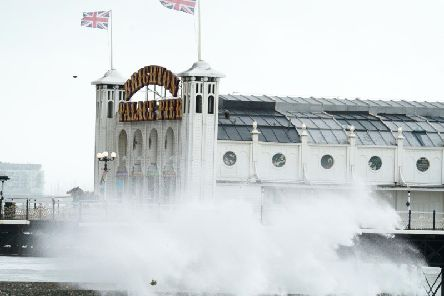 Brighton storm weather 10-08-19