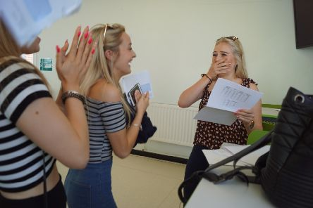 Chichester High School GCSE results. Picture contributed