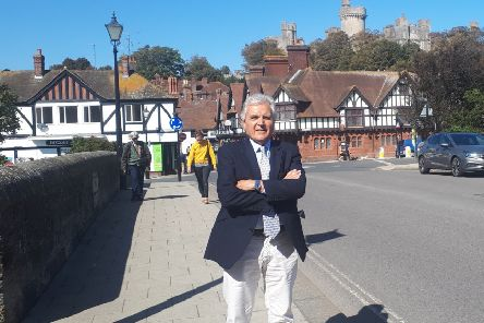 Robert Wheal, Brexit Party candidate for Arundel and South Downs