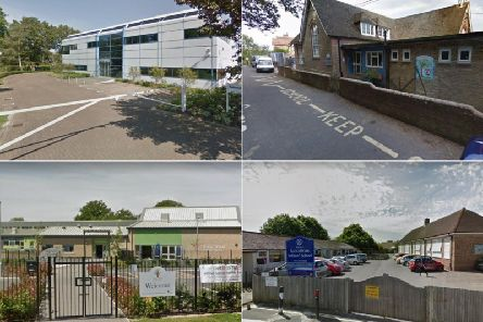 These are the rates of absence at West Sussex primary schools according to government figures.