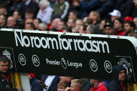 The Premier League's No Room for Racism campaign will be at the Amex Stadium on Saturday