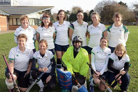 The Chichester ladies' fourth team / Picture by Kate Shemilt