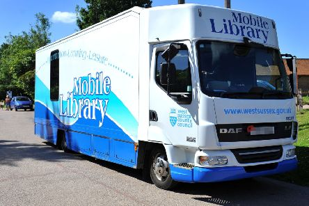 West Sussex's mobile library service has been axed