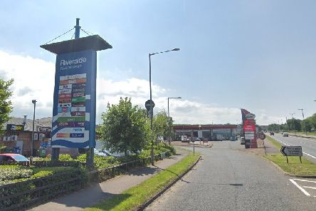 The entrance to Riverside Regional Centre, Coleraine. Image from Google StreetView