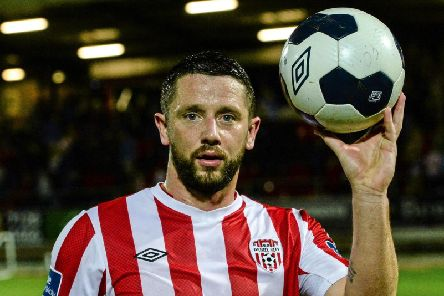 Striker Rory Patterson has signed for Ballymacash Rangers.