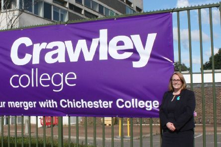 Vicki Illingworth, Crawley College  principal