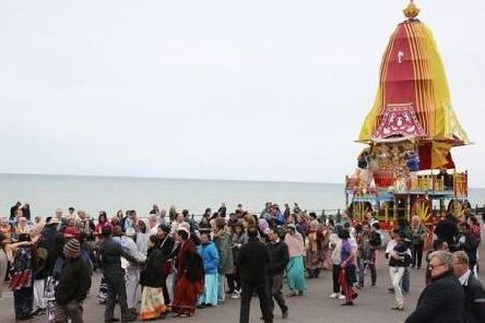 A chariot festival in Brighton. Picture contributed