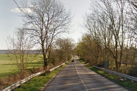 The fatal collision happened on the B2112 Common Lane at Ditchling Common. Picture: Google Street View